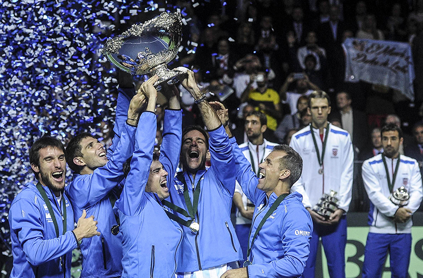Se confirmó cuál será la sede de Argentina-Chile — Copa Davis