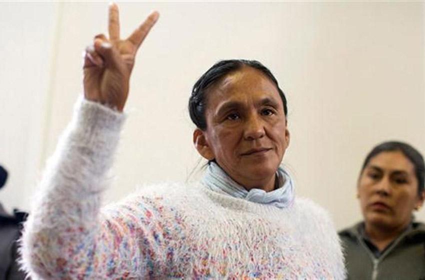 Revocaron arresto domiciliario a Milagro Salas — VENEZUELA
