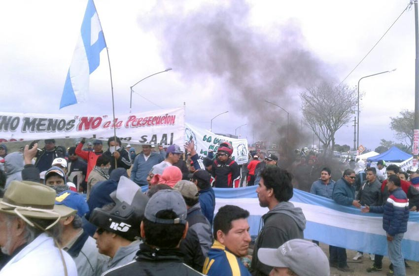 Desalojaron a trabajadores de Ledesma que cortaban la ruta 34 — Jujuy