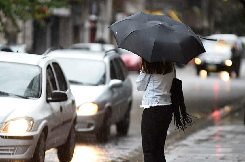 Rumores de tormenta y de lluvia inminente