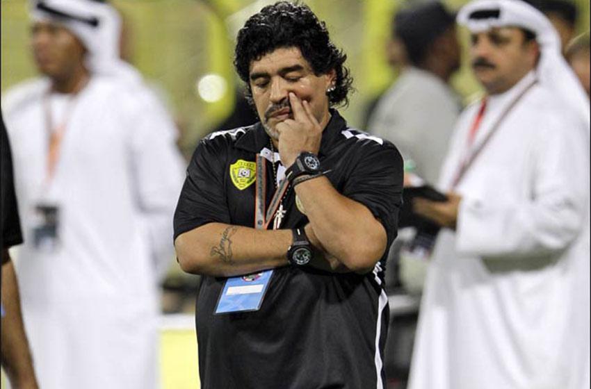 Maradona desafío a Mayweather