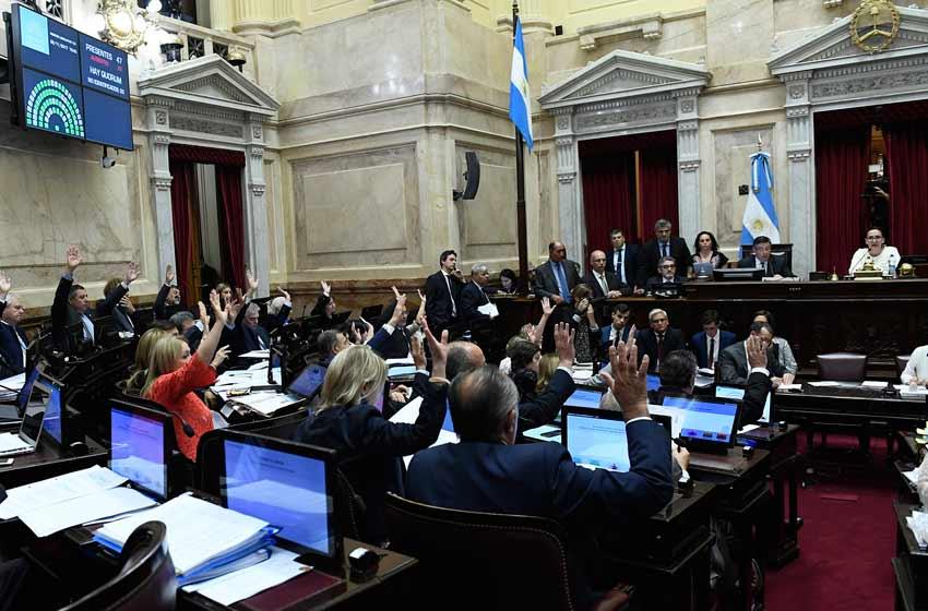 El Senado aprobó las reformas fiscales y jubilatorias acordadas con los gobernadores