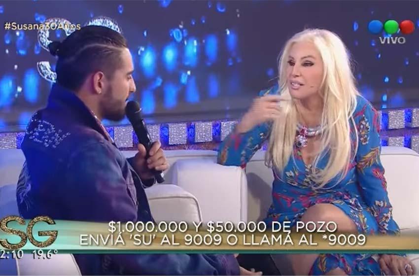 Susana reveló el sexo del bebé de Macedo y Urtubey