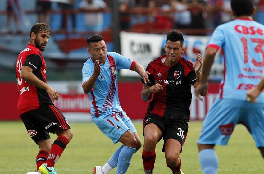 Con gol de Joaquín Varela, Newell's derrotó a Arsenal