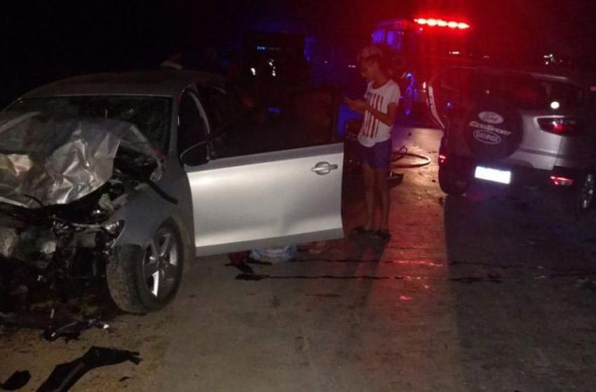 Choque en la ruta A012 dejó 4 muertos