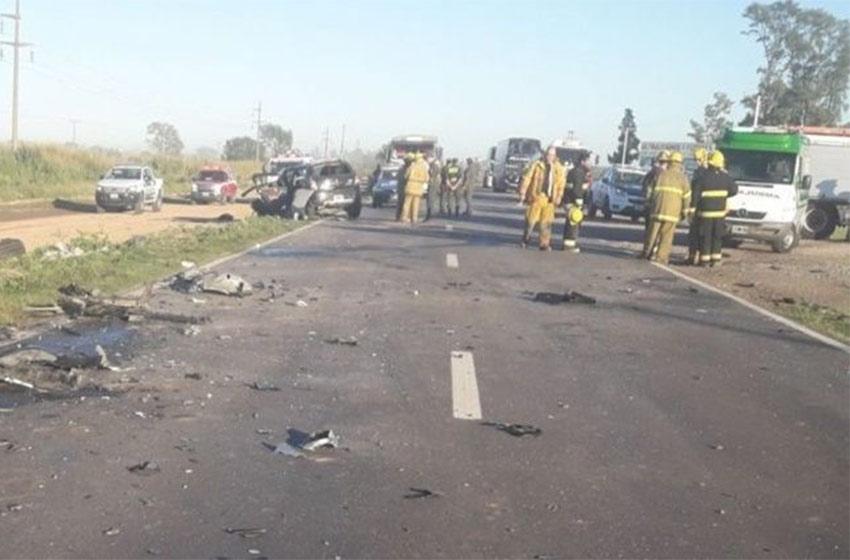 Cuatro muertos en un accidente en ruta 34 — Sunchales