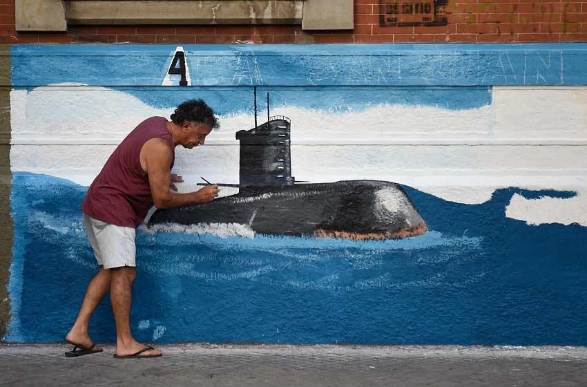 El buque Islas Malvinas se suma a la búsqueda — ARA San Juan