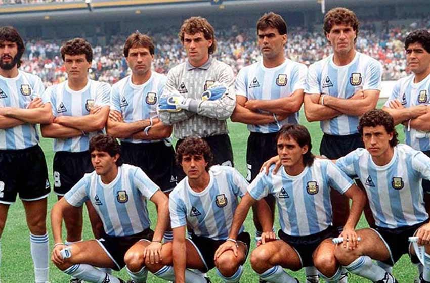 Los campeones del '86 vuelven a cumplir su promesa 32 años después