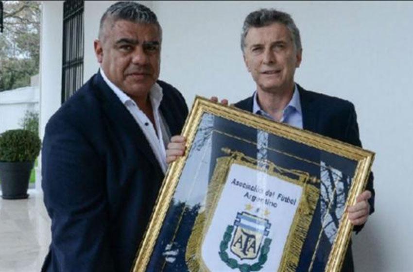 Macri recibió a Tapia