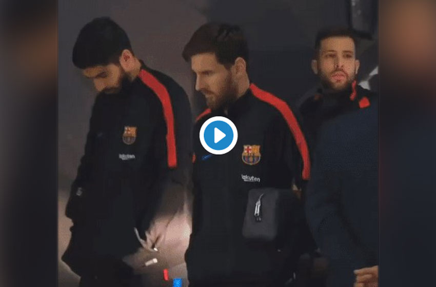 El video de Messi, Suárez y Alba del que hablan todos