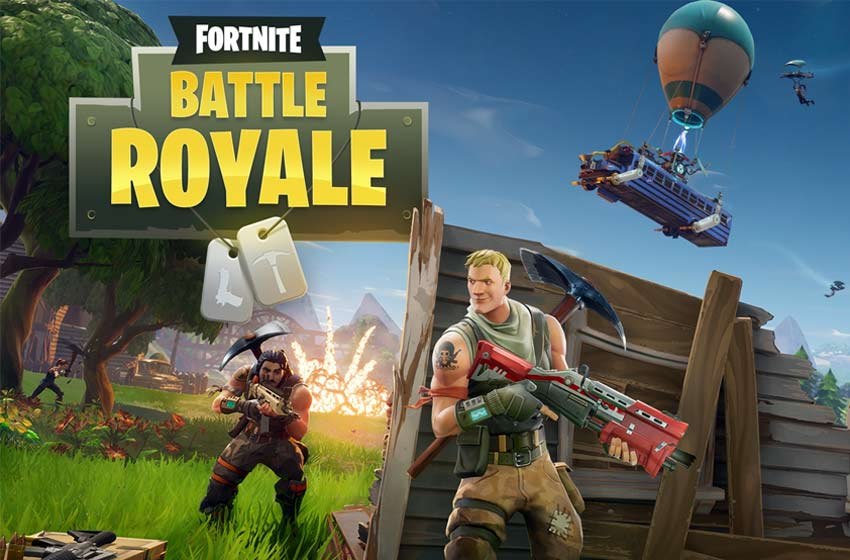 Fortnite Battle Royale muestra el primer tráiler de su versión móvil