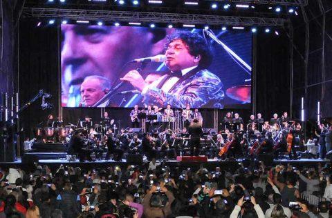 Los Palmeras pusieron a bailar a Buenos Aires en el Obelisco