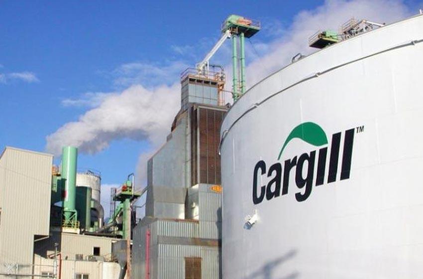 Cargill paralizó sus plantas y suspendió a los trabajadores