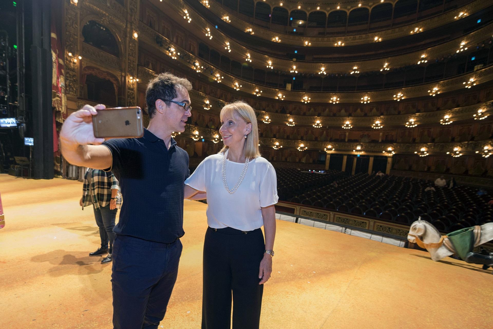 Berl N En El Col N Recorrida Y Fotos En Los Rincones Del Teatro  -> Sala De Ensayo Tv Rosario