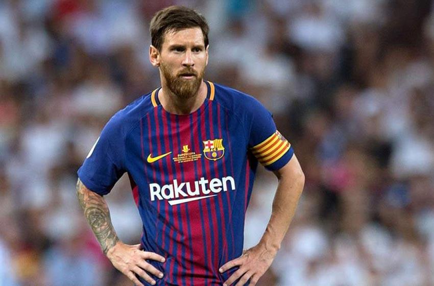 Control antidoping sorpresa para Messi y diez jugadores más del Barcelona