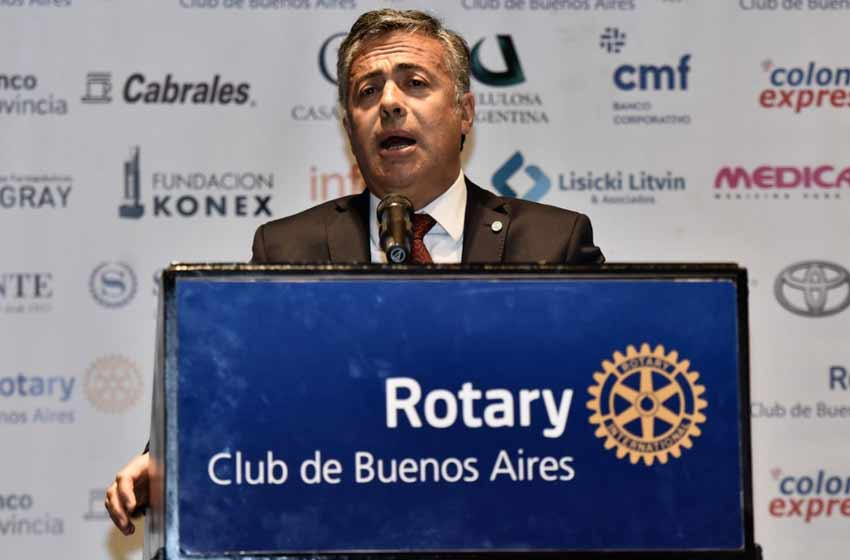 Juan José Aranguren contra la UCR:
