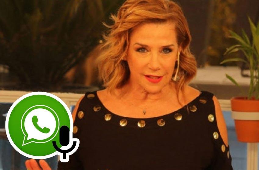 Otro audio filtrado: Marcela Tinayre critica a Nacho Viale