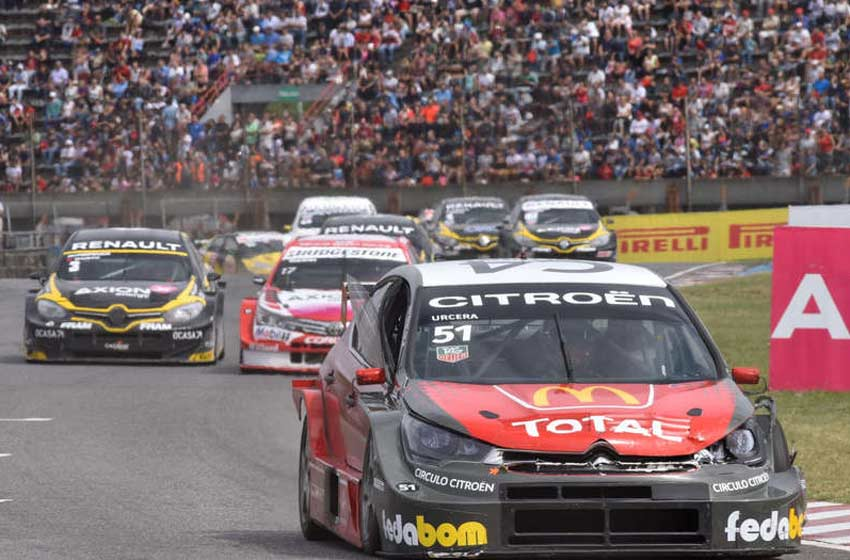 Agustín Canapino, el más rápido de la clasificación en Rosario