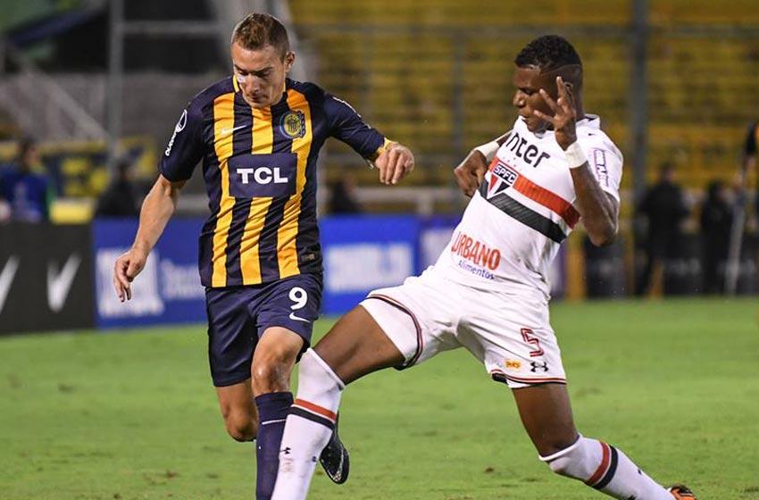 Con Parot en cancha, Rosario Central es eliminado de la Copa Sudamericana