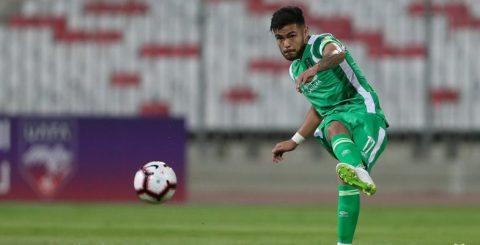 Paulo Díaz en Arabia Saudita, con la camiseta del Al-Ahli.