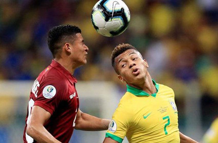Brasil igualo con Venezuela